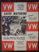 Safer Volkswagen VW Motoring magazine May 1964 Beetle 1500S Camper