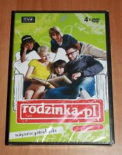 Rodzinka.pl (Box 4 DVD) Sezon 2 - Serial TVP - Region ALL / Polish, Polski