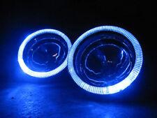 Blue Halo Fog Lamps Angel Eye Driving Lights Kit Pair for 2014-2017 Kia Soul
