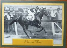 1993 Daily Racing Form - Promo # 1 - Horse Star Cards - Man o' War