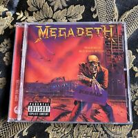 MEGADETH cd PEACE SELLS... but WHO's BUYING? Remastered Remixed + bonus tracks