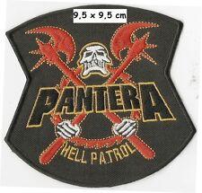 Pantera - hell patrol patch - FREE SHIPPING