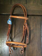 Stubben bridle full size brand new in honey coloured leather ( top quality )
