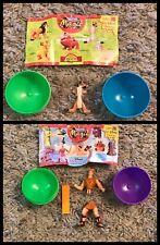 Disney 90's  Nestle Magic Ball - 2 Character Toys With Plastic Ball's IMC
