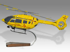 Airbus Eurocopter H145 East Anglian Air Ambulance Handcrafted Wood Display Model