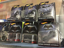 Hot Wheels Batman Movie Series Vehicle Lot Of 6! New! Shelf Wear!