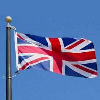 3x5 British Union Jack United Kingdom UK Great Britain Banner Flag 3'x5' Q2R7