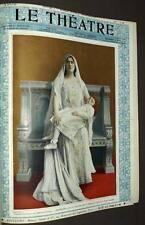 la Revue LE THEATRE Deuxieme année premier semestre 1901 par GOUPIL
