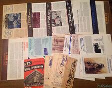 Twelve 1960s-1980s F.C. Taylor Fur Co. St. Louis Catalogs + Fur Tags & Ephemera