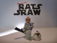 Lego Star Wars Minifigura Trooper-Clone Custom 501st soldado de asalto de nieve