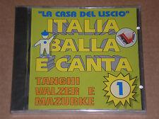ITALIA BALLA E CANTA VOL. 1 - CD SIGILLATO (SEALED)