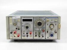 Tektronix DM 501 Digital Multimeter AM 503 Current Probe Amplifier #392