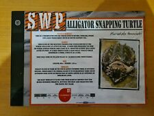 More details for sandwich wildlife park nocturnal animal sign (snapping turtle)