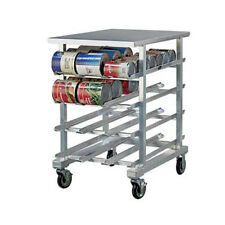 New Age 1225 Half Size Can Storage Rack W/ Stainless Top