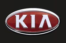 10cm! Aufkleber Decal UV&WASCHANLAGENFEST kratzfest Kia Auto-Logo bunt AC062