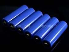 6x 3.7V High Voltage Lithium Li-ion AA Rechargeable Battery 14500 Cell Pack