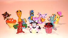 Pokemon Sammelfiguren Stiftaufsatz12 Stück verschiedene Neu und Originalverpackt
