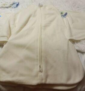 Two HALO Sleepsack Wearable Blanket Girls Baby Infant  Fleece S Small 0-6 Month
