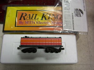 MTH O RailKing Southern Pacific Die-cast Auxiliary Water Tender 30-1126 New