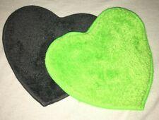 prowin 2 x Sweetheart grau/grün, je 14 cm x 14 cm, neu