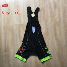 New summer women bib shorts Cycling Clothing Strap shorts Bicycle pants Size XXL