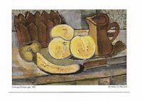 AK, Künstlerkarte, Piperdruck, Gemälde, Georges Braque, Stilleben mit Banane