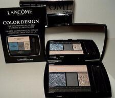 Lancome Color Design 5 Eye Shadow & Liner Palette - 403 SAPPHIRE FLING  NIB