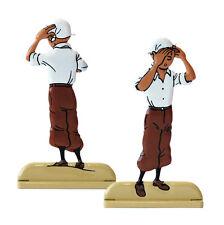 TINTIN CRABE AUX PINCES D'OR Figurine Métal RELIEF Tintin Mouchoir Moulinsart