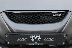 Front Hood Grill A Type UNPAINTED 2p 1Set For 2008 2010 Hyundai Genesis Coupe