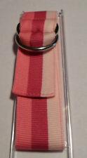 Spiedel Express 879 Pink Striped Ribbon Wrist Watch Band