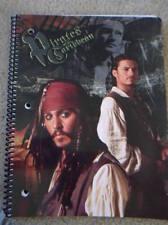 New Pirates Of Caribbean Johnny Depp Spiral Notebook School