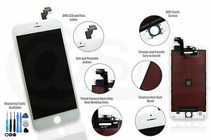 iPhone 6 PLUS (5.5) WHITE LCD Display Touch Screen Digitizer Replacement UK