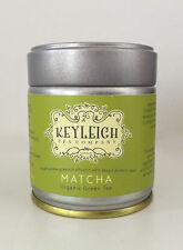 KEYLEIGH MATCHA ORGANIC SPECIALITY CEREMONIAL GRADE POWDERED GREEN TEA 40G TIN