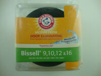 Bissell Vacuum Filter 9,10,12 & 16 Odor Eliminating Washable Arm & Hammer New
