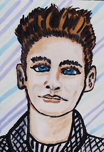 4 x 6 Art Print Morrissey The Smiths 80's Collectible by Artist Music KSams