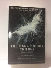 The Dark Knight Trilogy The Complete Screenplays Book NEW Batman