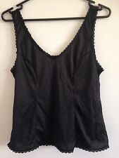 Women's Size 12 Lingerie, Intimates > Camisoles > BLACK. Cami Top. Summer.