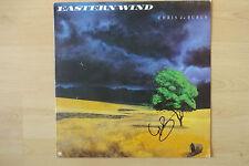 """Chris de Burgh Autogramm signed LP-Cover """"Eastern Wind"""" Vinyl"""