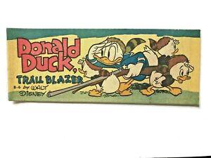"DONALD  DUCK "" trail blazer "" - 1950 WHEATIES comic book by WALT DISNEY"
