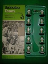 In scatola Subbuteo C100 SQUADRA ZOMBIE Ref 236 Swansea City 1980-1981 HP reverse base