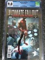 Ultimate Fallout #4 First Print Marvel 2011 1st Miles Morales Spider-Man CGC 9.0