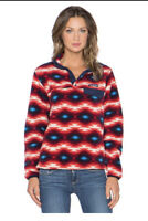 Patagonia Synchilla Wild Desert Snap Classic Fleece Pullover Sweater Size XS