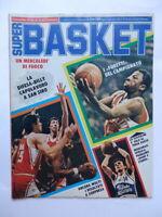SUPERBASKET rivista pallacanestro basket n 8 1981