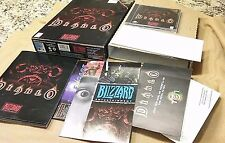 Diablo 1 Original PC NO GAME, Everything else Big Box, Manuals, Inserts & More