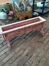 "New 36"" Cedar Wood Planter, Flower Box, Spring Is Comming"