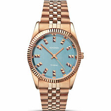 Sekonda Ladies Watch 2090 Rose Gold Plated Blue Dial Editions RRP £49.99