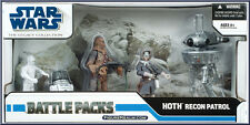 Star Wars Legacy Collection Hoth Recon Patrol Battle Packs MISB V.Hard to find