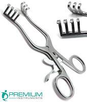 """Weitlaner Retractor 5.5"""" Blunt 3x4 Prongs Surgical Veterinary Instruments"""