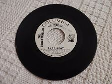 THE GUITAR RAMBLERS SURF BEAT/SAME PROMO COLUMBIA 42928
