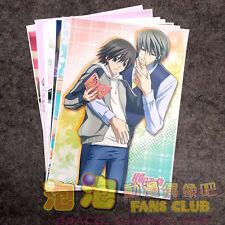 8pcs Junjou Romantica Sekai ichi Hatsukoi Home Decor Poster Wall Scroll